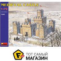 Модель 1:72 - Miniart - Medieval Castle XII-XV c. (MA72005) пластмасса