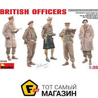 Модель 1:35 - Miniart - British Officers (MA35165) пластмасса