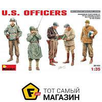Модель 1:35 - Miniart - Американские офицеры Второй мировой войны (MA35161) пластмасса