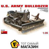 Модель 1:35 военная - Miniart - U.S. Army bulldozer (MA35195) пластмасса