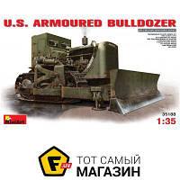 Модель 1:35 военная бронетехника - Miniart - U.S. Armoured Buldozer (MA35188) пластмасса