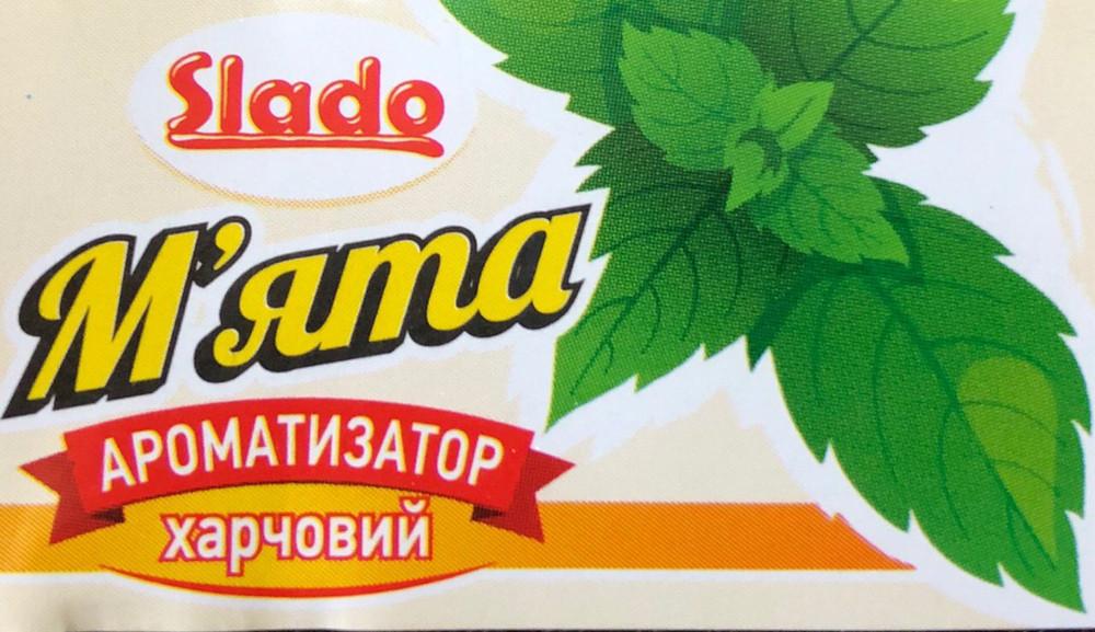 """Ароматизатор """"SLADO"""" харчовий """"М'ята"""" 5 мл"""