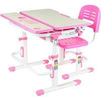 Парта со стулом FunDesk Lavoro Pink