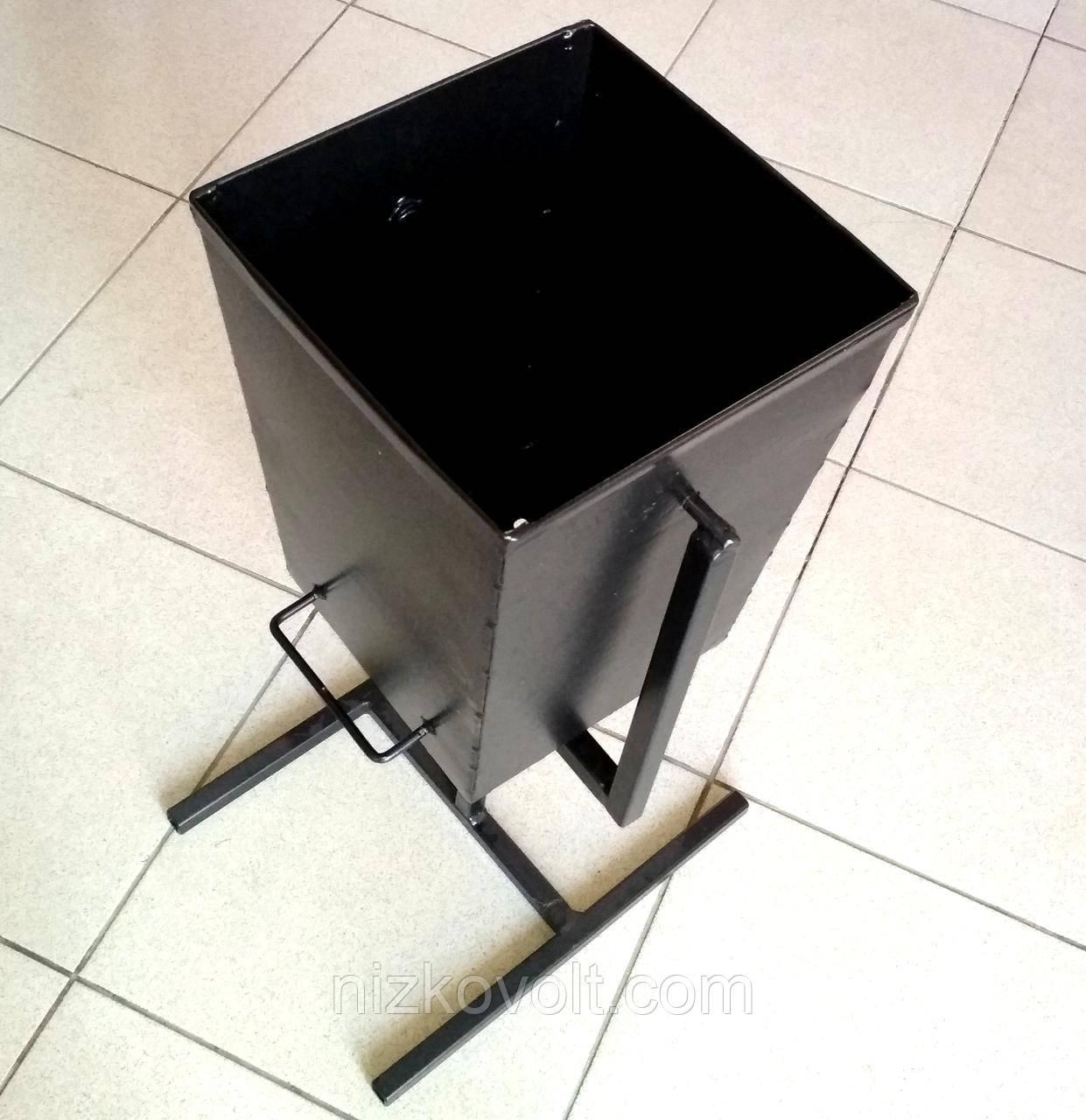 Урана металлическая для мусора 250х250х350