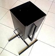 Урану металева для сміття 250х250х350