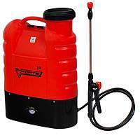 Аккумуляторный ранцевый опрыскиватель 16 л Forte CL-16A, для гербицидов, жидких удобрений, колорадского жука