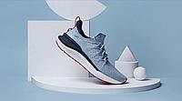 Оригинальные кроссовки Ксиоми мужские серые Xiaomi Mijia 4 Sneaker Sport Shoe 44 size blue