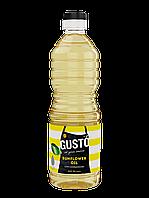 Подсолнечное масло GUSTO 0,5л ПЭТ