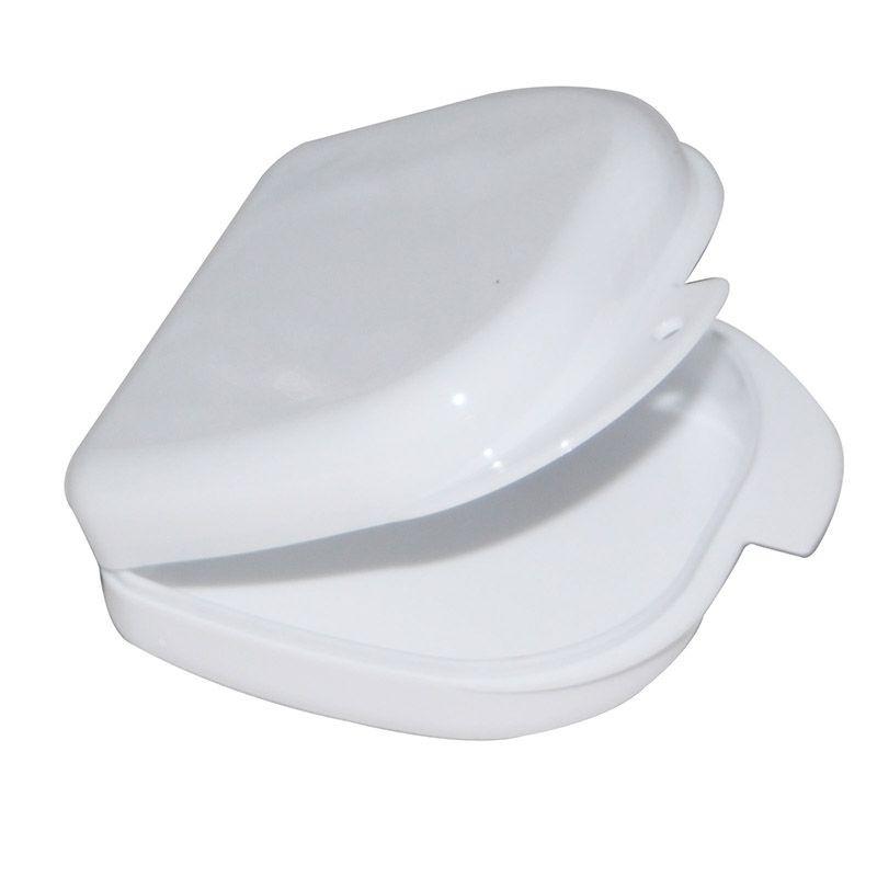 Коробка для ортодонтичних та ортопедичних констр. без отворів білий T-B-6