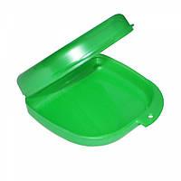 Коробка для ортодонтических и ортопедических констр. без отверстий зеленый T-B-6