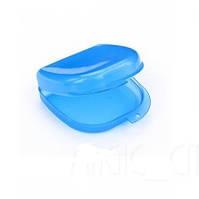 Коробка для ортодонтических и ортопедических констр. без отверстий синий T-B-6