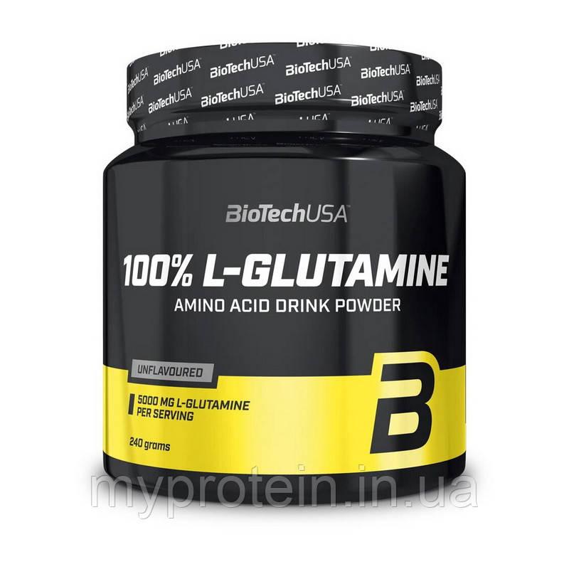 BioTech Глютамин 100% L-Glutamine (240 g)