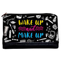 Женская косметичка Lovely Wake up and make up 26*15*8 см (KK_URB011_BL)