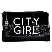 Женская косметичка Lovely City girl 26*15*8 см (KK_URB004_BL)