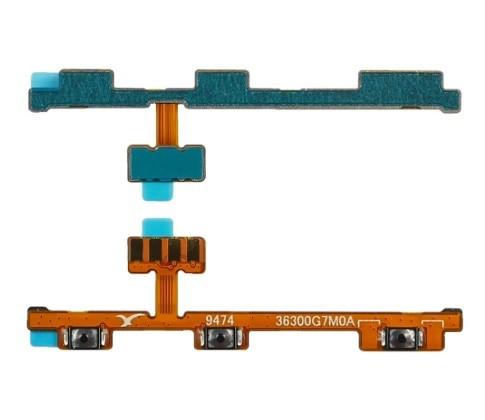 Шлейф (flat cable) для Xiaomi Redmi Note 8 Pro с кнопками включения | выключения и регулировки громкости