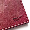 Обложка на паспорт в подарок (винный), фото 3