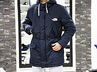 Парка The North Face blue XL
