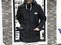 Парка The North Face black XL
