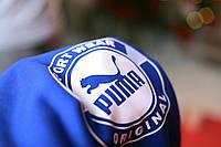 Толстовка утепленная PUMA Sport Wear ORIGINAL синяя унисекс L
