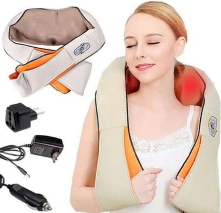 Массажер 888 Pro Massager of Neck Kneading Роликовый для шеи и спины Pro ZV, фото 2