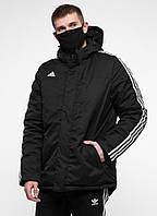 Куртка зимняя Adidas - Line, Black XXXL