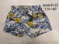 Шорты для девочек, Glo-story, 110,120,130,140,150,160 см,  № GMK-8122