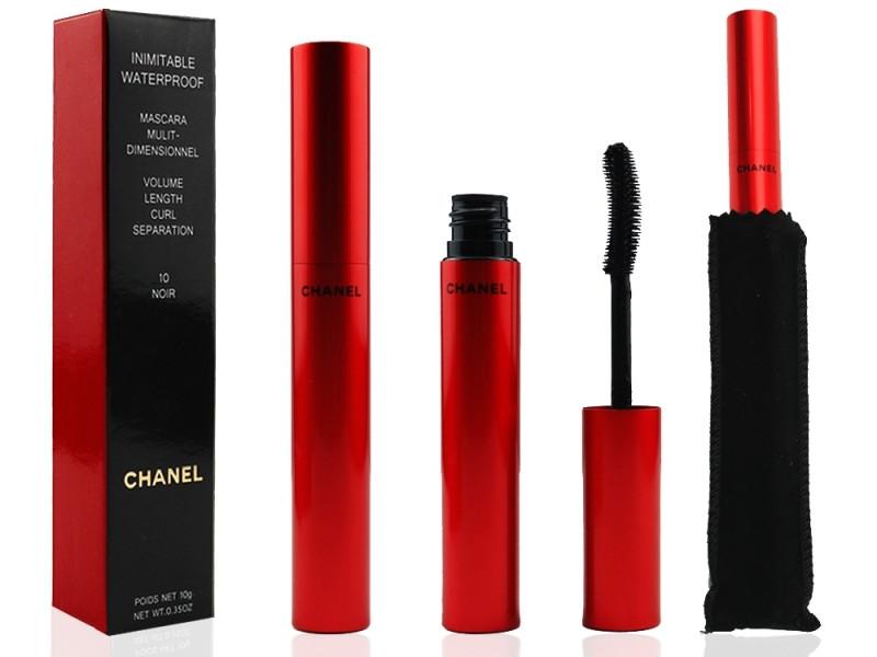 Тушь для ресниц CHANEL 10 Noir Mascara Mulit-Demensionnel Inimitable Waterproof