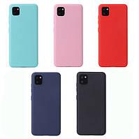 TPU чехол Candy для Samsung Galaxy Note 10 Lite 2019 N770 (Разные цвета)