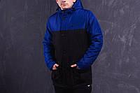 Парка Зима Nike мужская сине-черная