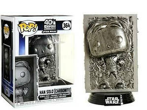 Фигурка Funko Pop Фанко Поп Звёздные войны Хан в камне Star Wars Han in Carbonite 10 см SW HC 364