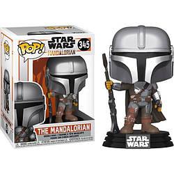 Фигурка Funko Pop Фанко Поп Мандалорец Звёздные войны Star Wars The Mandalorian10 см SW ТМ345