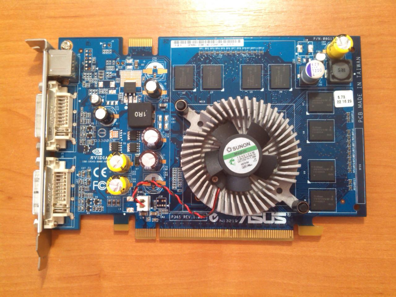 Asus 7600 GS 512MB 128bit GDDR2 PCI-E Гарантія!