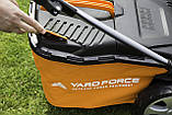 Газонокосилка аккумуляторная Yard Force 40V 34 cm (Германия), фото 6