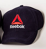 Кепка бейсболка Reebok синяя рибок