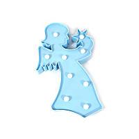 Ночник Kronos Top Ангелок Голубой stet1235,2, КОД: 943763