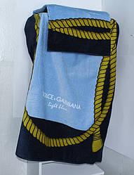ТМ TAG Полотенце пляжное Dolce Gabbana