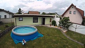 Надувной бассейн Bestway 57376 (396x84) с картриджным фильтром, фото 2