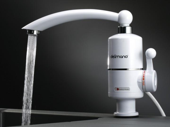 WATER HEATER Мини бойлер водонагреватель кран быстрый нагрев для воды в кухне и ванной с индикатором MP 5275