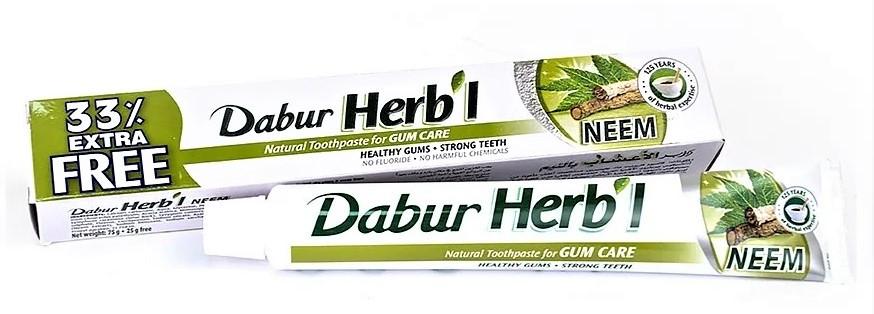 Зубная паста Дабур Хербал Ним 75+25 гр