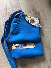 Фартух для майстра синій