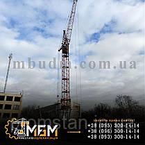 Аренда, услуги автомобильных, башенных, пневмоколесных, электрических кранов, фото 3