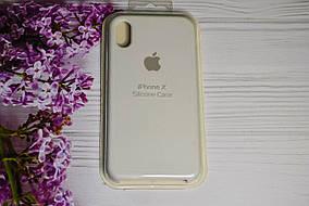 Чехол iPhone X / Xs Soft Touch Silicone Case с микрофиброй внутри (MKX32FE) - Color 1