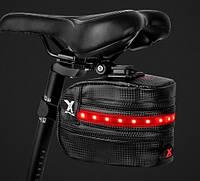 Велосумка с подсветкой BG-2503B, фото 1