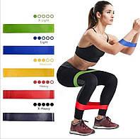 Эспандеры, Фитнес резинки для фитнеса из 5 лент и чехла. Набор Фитнес Резинок. Ленты сопротивления