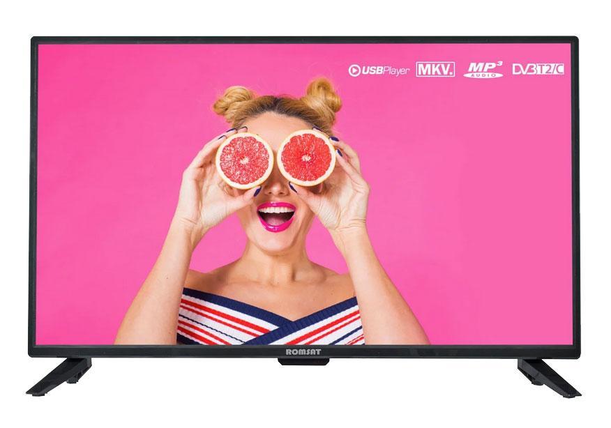 """Телевизор 32"""" Romsat 32HSH1930T2 1366x768, SmartTV, гарантия 1 год"""