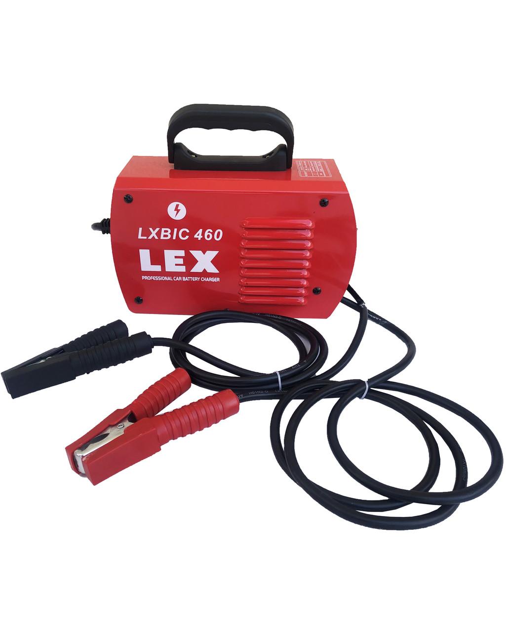 Пуско-зарядное устройство LEX LXBIC 460A инверторного типа зарядний пристрій