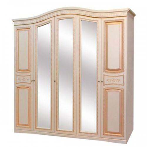 Шкаф 5Д Луиза патина Світ Меблів