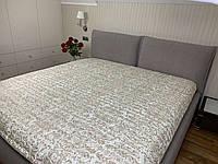 """""""Белое с узорами"""" Бамбук летнее одеяло покрывало двуспальный размер 175/205"""
