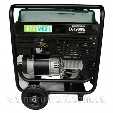 Генератор бензиновий Iron Angel EG-12000E, фото 2