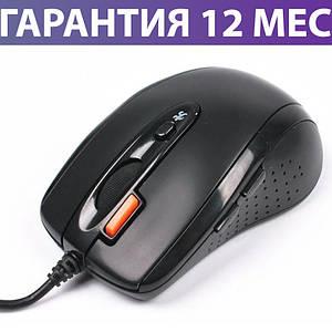 Компьютерная мышь A4Tech N-70FX-1 чернаяV-TRACK USB, проводная мышка